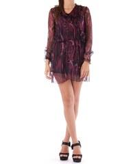 Dámské šaty Cristina Gavioli 45268 - Tmavě fialová / 46