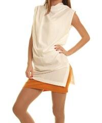 Dámské šaty Cristina Gavioli 45100 - 42 / Zlatá