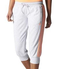 adidas ESS 3S 3/4 PANT šedá L
