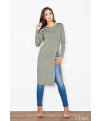 Podzimní móda, dlouhá tunika FIGL (vel.S,XL skladem) S mint Dopravné zdarma!