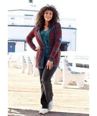 Delší svetr pro plnoštíhlé KangaROOS, svetry nadměrné velikosti 40/42 pestrá, podle obrázku