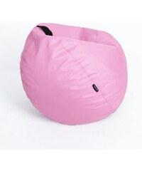 Oskar Sedací vak (taburet) Mignon světle růžový polyester