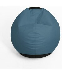 Oskar Sedací vak (taburet) Mignon modré indigo polyester