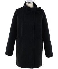 CHICWISH Dámský kabátek Mašlička černý