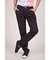 SAM 73 Dívčí chino kalhoty GK 40 500 - černá