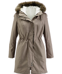bpc bonprix collection Manteau 2 en 1 marron manches longues femme - bonprix