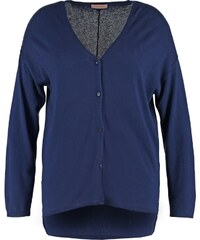Triangle Strickjacke navy blue