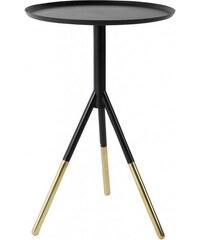 Zuiver Konferenční stolek ELIA black/brass