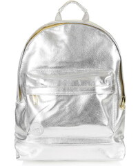 Topshop **Metallic Backpack by Mi-Pac