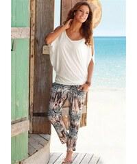 Lascana Damen Strandhose mit Animalprint bunt 34,36,38,40,42,44,46