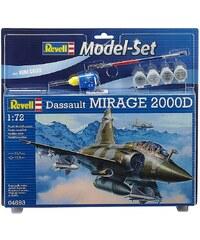 Revell® Modellbausatz Flugzeug mit Zubehör, Maßstab 1:72, »Model Set - Mirage 2000D«