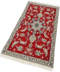 Orient-Teppich Parwis Nain Khorasan1 180 000 Knoten/m² handgeknüpft Unikat PARWIS rot 1 (B/L: 60x90 cm),2 (B/L: 100x150 cm),9 (B/L: 40x60 cm)