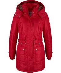 """John Baner JEANSWEAR Manteau d""""hiver rouge manches longues femme - bonprix"""