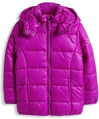 ESPRIT Mädchen Jacke mit abnehmbarer Kapuze, Einfarbig