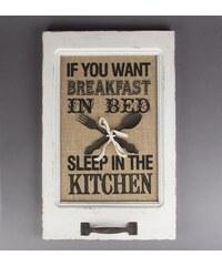 "Obraz ""Sleep in the kitchen"""