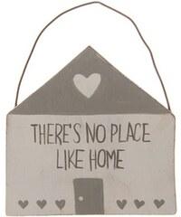 Dekorační závěsná cedulka Home