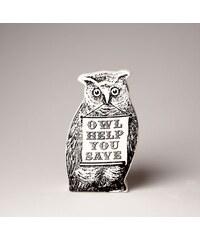Kasička na peníze Owl