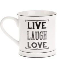 Hrnek Live Laugh Love