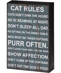 Obraz Cat Rules