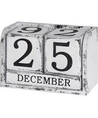 Dřevěný kalendář Black&White