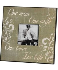 Rámeček na fotografie One man, One wife