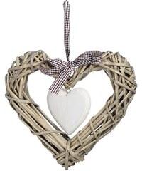 Dekorační srdce na dveře