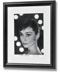 Obraz v rámu Audrey Hepburn