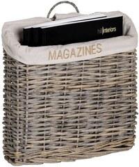 Proutěný koš na časopisy MAGAZINE