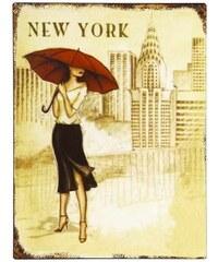 Plechová cedule NEW YORK
