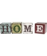 Nápis HOME v kostkách