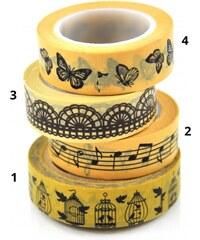 Designová samolepící páska Vintage Styl 1