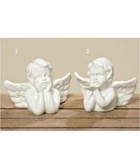 Porcelánový anděl White Styl 1