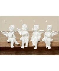 Porcelánový anděl White malý Styl 1