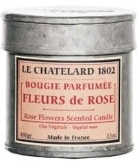 Vonná svíčka v plechu Růže Le Chatelard