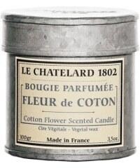 Vonná svíčka v plechu Květy bavlníku Le Chatelard