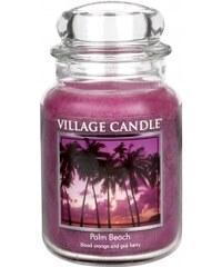 Vonná svíčka, Palmová pláž 26OZ Village Candle