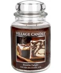 Vonná svíčka, Čokoládový dortík Village Candle