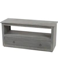 Dřevěný stolek pod televizi Calais Vintage Grey