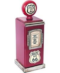 Malá skříňka ve tvaru benzínového stojanu, 50cm