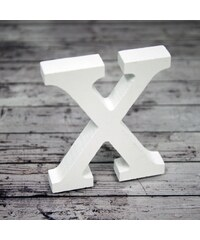 Dřevěné písmeno X, 8cm