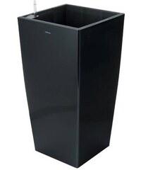 Samozavlažovací květináč LINEA Big Černý, 76cm