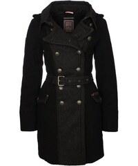 DreiMaster Dámský černý kabát 35132835_schwarz