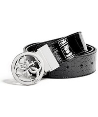 Guess Pásek Reversible Quatro G Belt