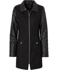 BODYFLIRT Manteau noir manches longues femme - bonprix