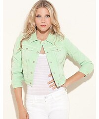 Guess Bunda Danni Cropped Colored Denim