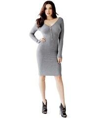 Guess Šaty Allison Henley Sweater Dress