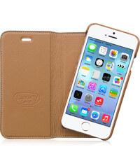 Pouzdro / kryt pro Apple iPhone 6 / 6S - Hoco, Luxury Brown