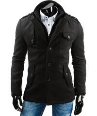 streetIN Pánský kabát - černá Velikost: M