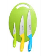 Sada nožů s prkénkem 4 ks FUN4U CS SOLINGEN CS-032920