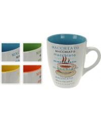 "Hrnek na kávu 300 ml ""MACCHIATO"", 4 designy ProGarden KO-185043"